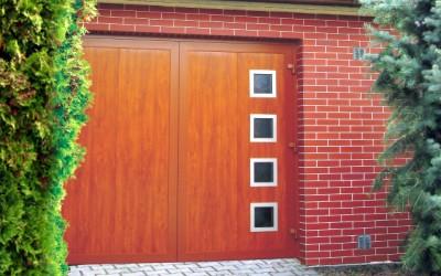 dvoukřídlá garážová vrata 1